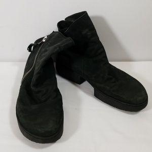 Trippen Black Zipper Ankle Boots Size 39